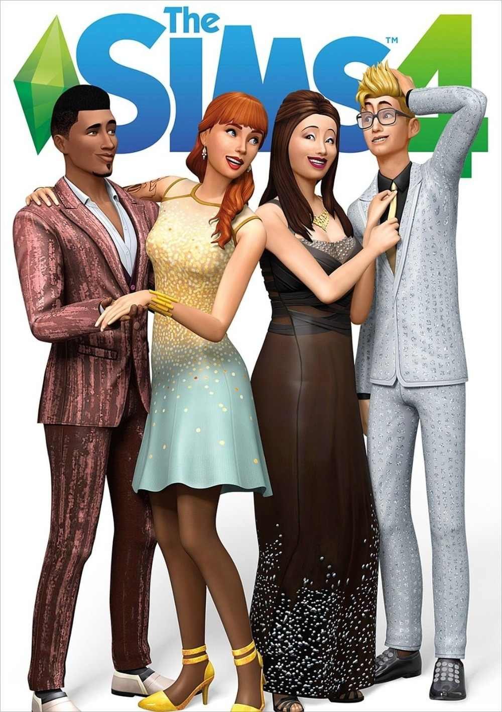 The Sims 4 Poster, New Game, PC Xbox SILK POSTER Decorative Wall painting 24x36inch