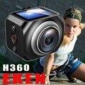 EKEN 360 Câmera de Ação Wi-fi Câmera 1920*1440 30fps Ultra HD TV Out Panorama Esporte Cam 1200 mah Da Bateria câmera