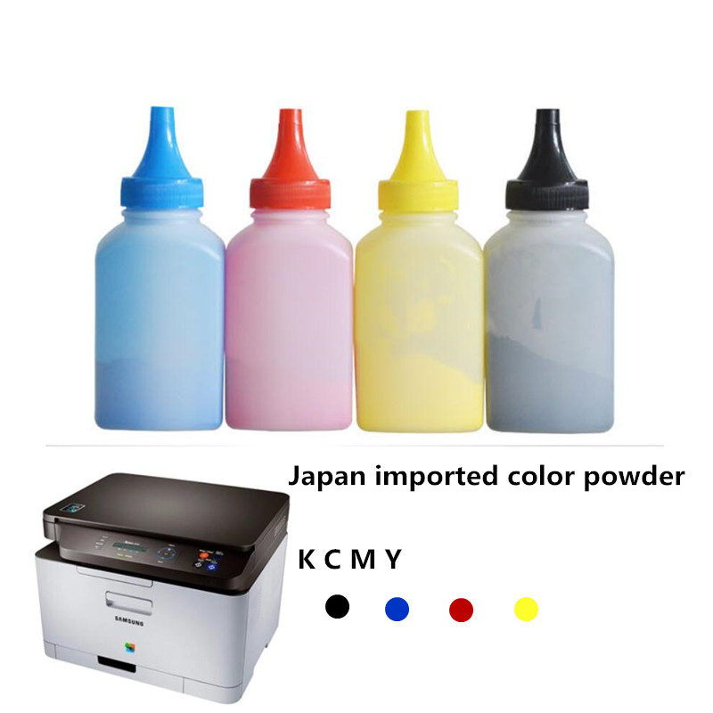 11.11 Big Sale! Free shipping Toner Easy Refill Kit Compatible For Samsung XPRESS SL C460 C460FW C410 C410W C460W CLT-406S KCMY