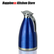Thermos 2L Vacuum Flasks Thermoses Jug Water Bottle Kettle Pot Stainless Steel Belly Cup Thermoses Kitchen Accessories цена и фото