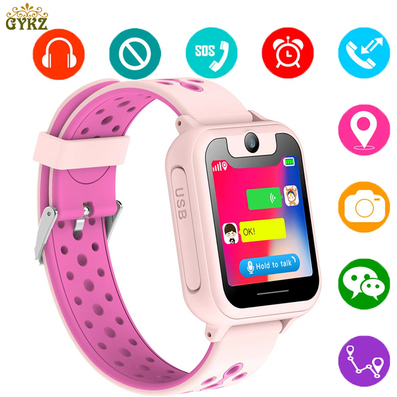 Children Smart Watches LBS Positioning tracker LED Color Touch Screen Child Baby Watch SOS Call Remote Monitoring Watch 2018 New children watch color screen insert card call illumination kids watches men women positioning touch clock boys girls reloj nino