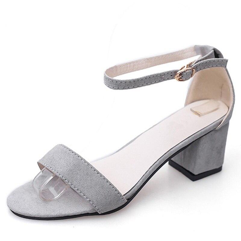 Summer Women Sandals Open Toe Flip Flops Womens Sandles Thick Heel Women Shoes Korean Style Gladiator Shoes