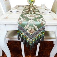 YO HOOM High Grade Kitchen Cotton Table Runners Tablecloth Hotel Reasturant Coffee Tablerunner Tablecover