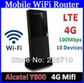 100M 4G LTE Mobile Broadband Mobile Wi-Fi Router Hotspot 800/900/1800/2600 MHz For EE Alcatel Y800 One Touch Link Y800