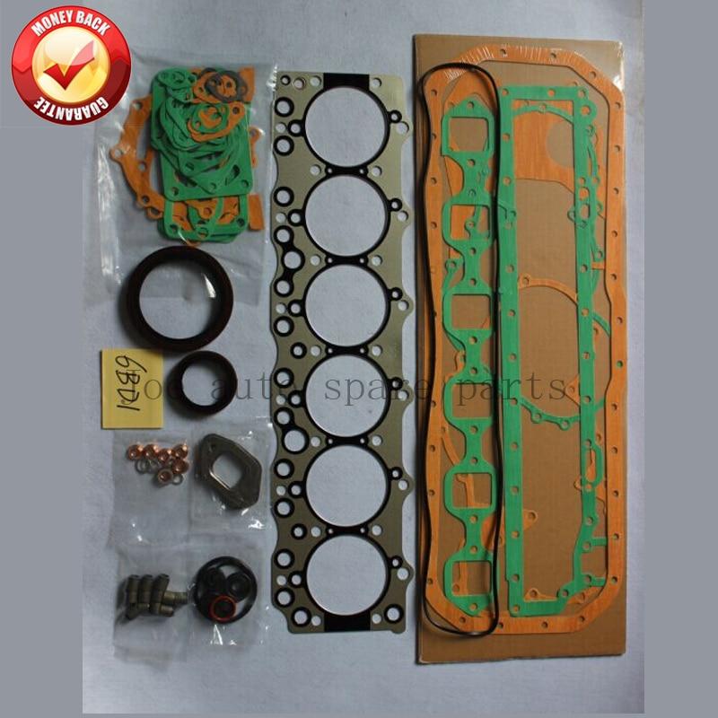 6BD1 6BD1T Moteur Complet joint ensemble kit pour Isuzu 5785CC 5.8L 1-87811203-1 1878112031 1 87811203 1