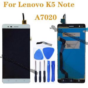 """Image 1 - 5.5"""" for Lenovo A7020 A7020a48 K52t38 k52e78 LCD + touch screen digitizer component replacement for LENOVO K5 Note LCD display"""
