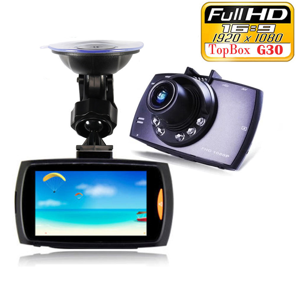 Car Dvr G30 2 7 Full HD 1080P Car font b Camera b font Recorder Motion