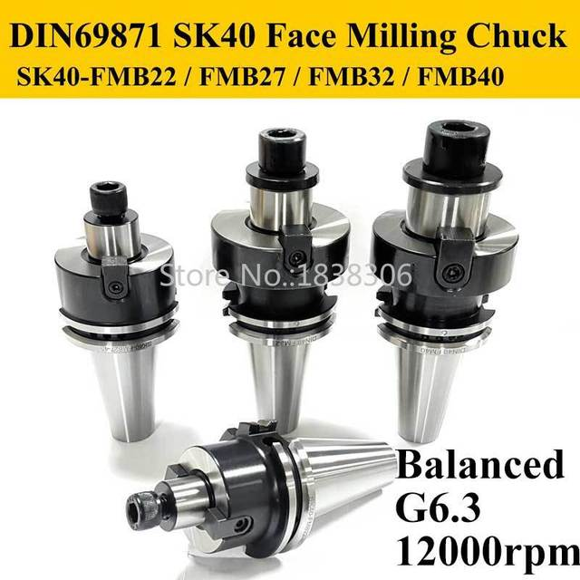 Din 69871 69872 SK30 SK40 cnc Face  Milling Cutter  Boring Tool Holder Chuck machine  bt30 fmb22 ISO Pull Stud Retention Knobs