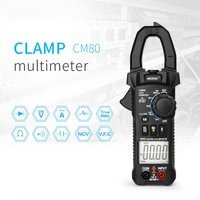 MESTEK CM80 Digital Clamp Meter True RMS Multimeter 5999 Counts AC/DC Volt Amp Ohm Capacitance Frequency NCV Diode Tester Sale