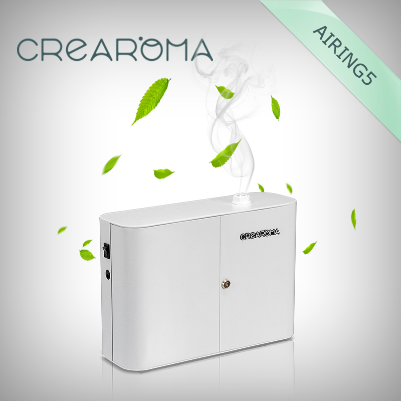 Crearoma electric aroma diffuser ionizer scent diffuser crearoma 60ml bottle aluminum alloy aroma oil diffuser
