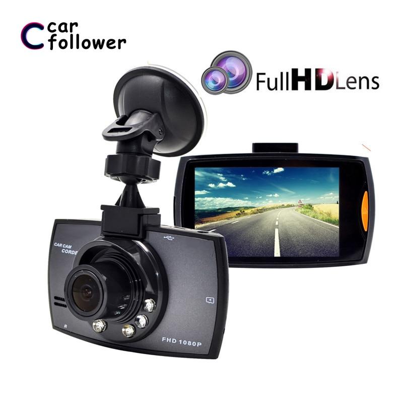 Full HD 1080P Автомобильный видеорегистратор 2,7 дюймов IPS экран Автомобильная камера с двумя объективами видеорегистратор Цифровой видеорегистр...