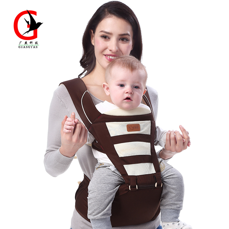 Baby Hipseat Carrier Sling Backpack Carrier Multifunctional Ergonomic Baby Carrier Four Seasons General Cotton Carrier Aby-8035 ergo baby carrier performance