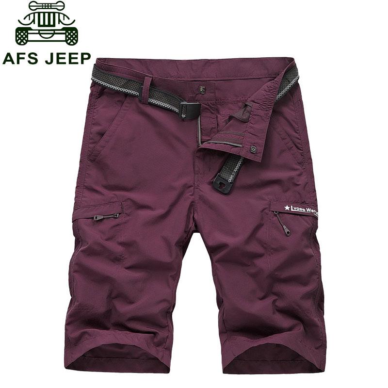 2016 L~4XL Brand Clothing Colors CLOTHES Quick Dry Mens Shorts Cotton Summer Mens Army Cargo Casual Shorts Pocket Pantalones