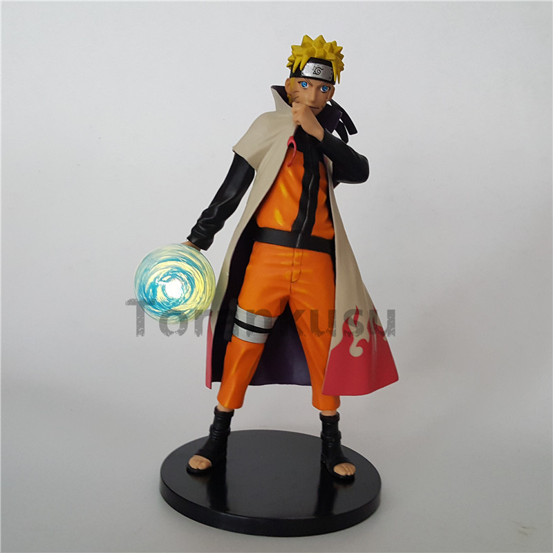 Naruto Action Figure Led Light Rasengan PVC Model Toy Anime Naruto Shippuden Figurine Sasuke Uzumaki Naruto