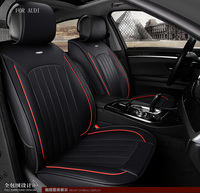 For Dodge Ram Charger Durango Journey Small Hole Ventilation Black Waterproof Soft Pu Leather Front Rear