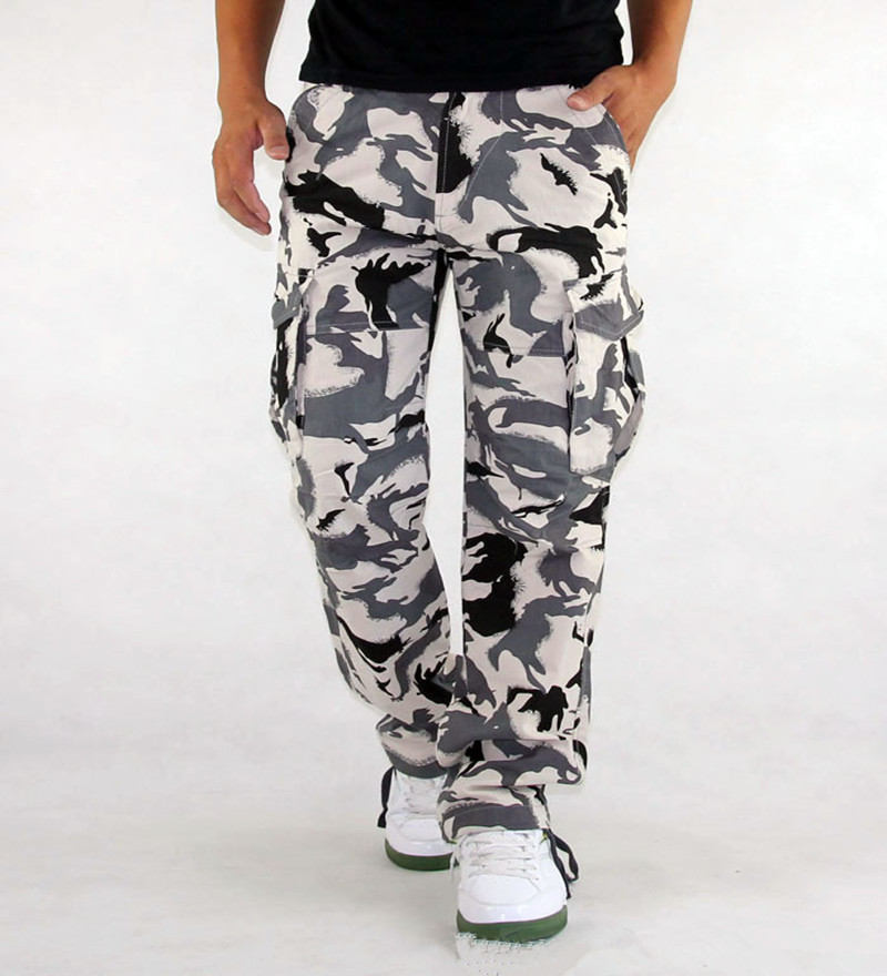 Mens Cargo Pants Millitary Clothing Tactical Pants Men Outdoor Camouflage Army Style Cam ...
