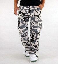 גברים של מכנסיים מטען Millitary בגדי טקטי מכנסיים גברים חיצוני הסוואה צבא סגנון Camo Workwear מכנסיים גדול גודל S XXXL