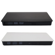 USB 3.0 Mobile External Case For 9.5mm SATA CD DVD BD-ROM BD-RE Drive High Quality Gift For Computer #201