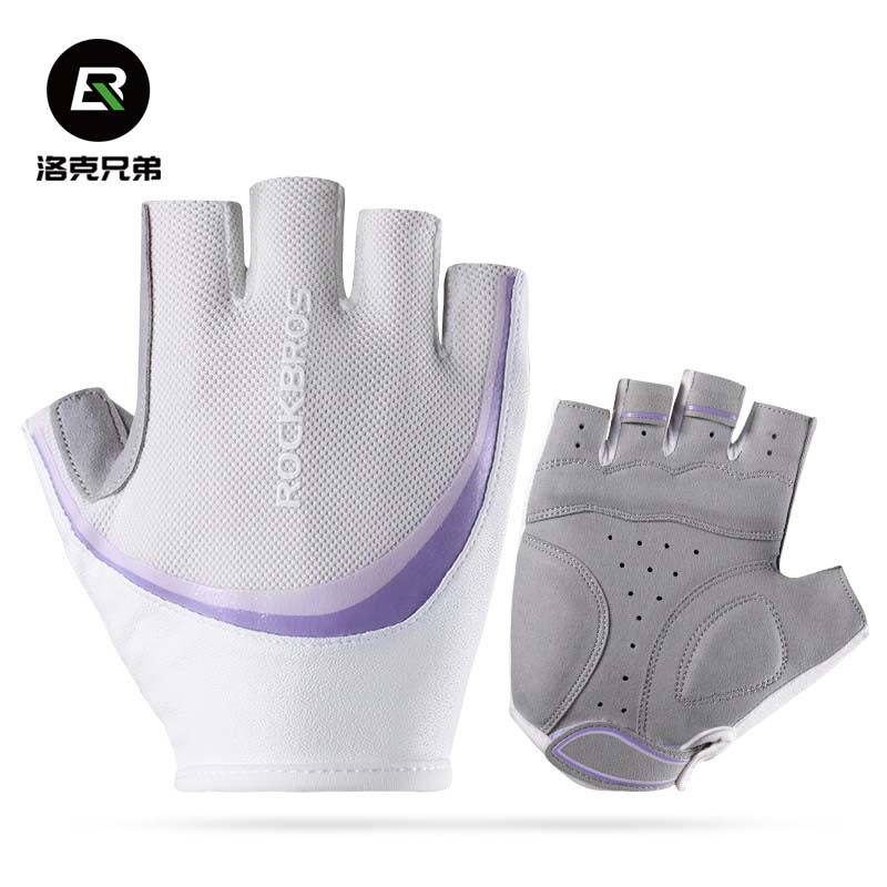 Rockbros Cycling font b Gloves b font Women 2017 Summer Half Finger Breathable MTB Road Bicycle