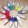 Senhoras Sapatos de Ballet Flats Mulheres Sapatos Baixos Mulher Deslizar Sobre sapatos Tamanho Grande 42 Mulheres Mocassins Zapatos Sapato Shose Casuais Mujer
