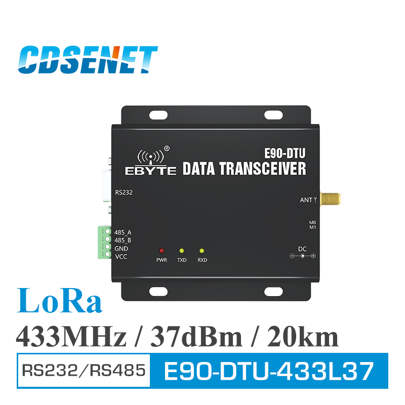 Communication Equipments Fixed Wireless Terminals 433mhz 470mhz Receiver Host Module For Wireless Sensor Modbus Rs485 Rs232 Wireless Radio Modem Xz-srm