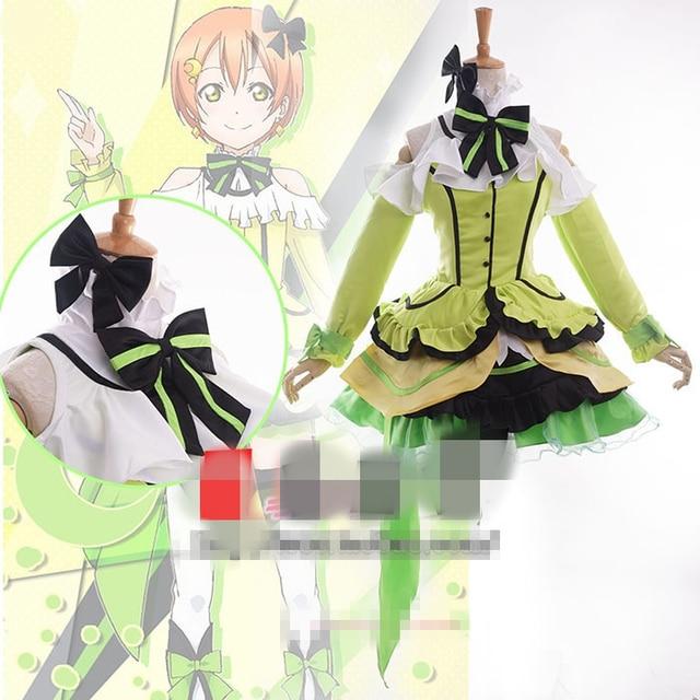 Love Live Season 2 Kira-Kira Sensation Hoshizora Rin Cosplay Costume  Custom-Made Free