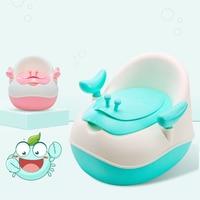 New 3 Colors Baby Toilet Potties Children's Urinal Toilet seat Cute Cartoon Boys Girls Potty Training Toddler Travel Potty