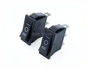 Image 5 - Interrupteur à bascule, 5 pièces x AC 15a 250V /20A 125V, SPDT KCD3, 3 positions pour bateau noir