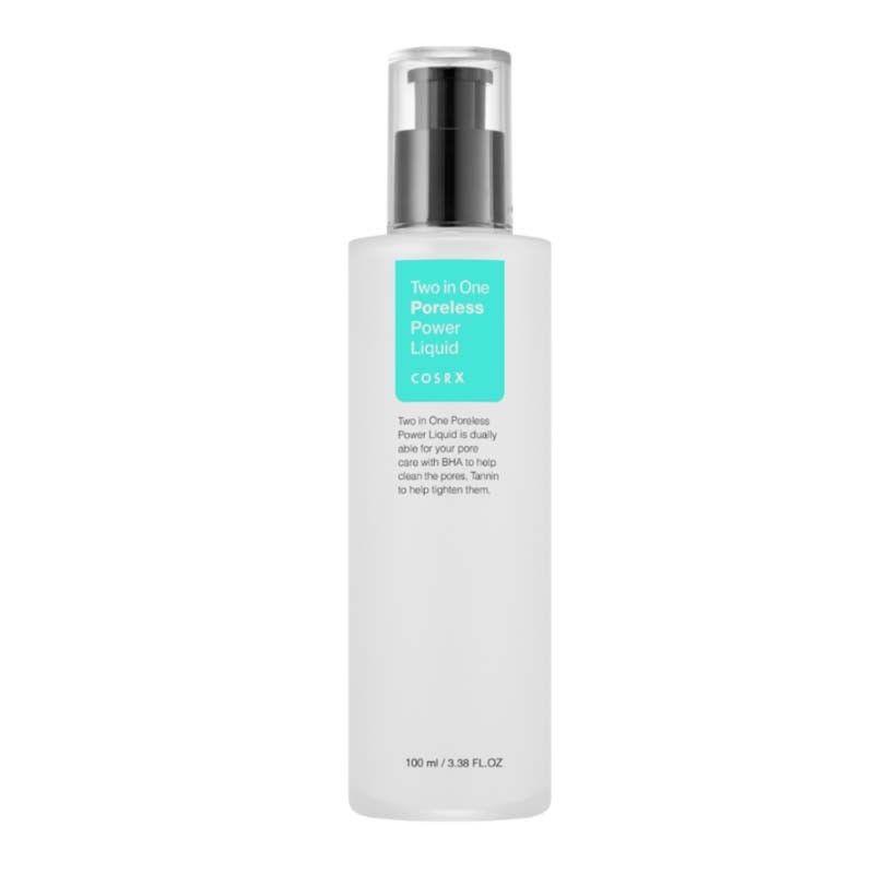 COSRX Two In One Poreless Power Liquid 100ml Face Toner Pore Care Face Exfoliating Oil Control Skin Care Whitening Shrink Pores пилинг mizon pore control peeling toner