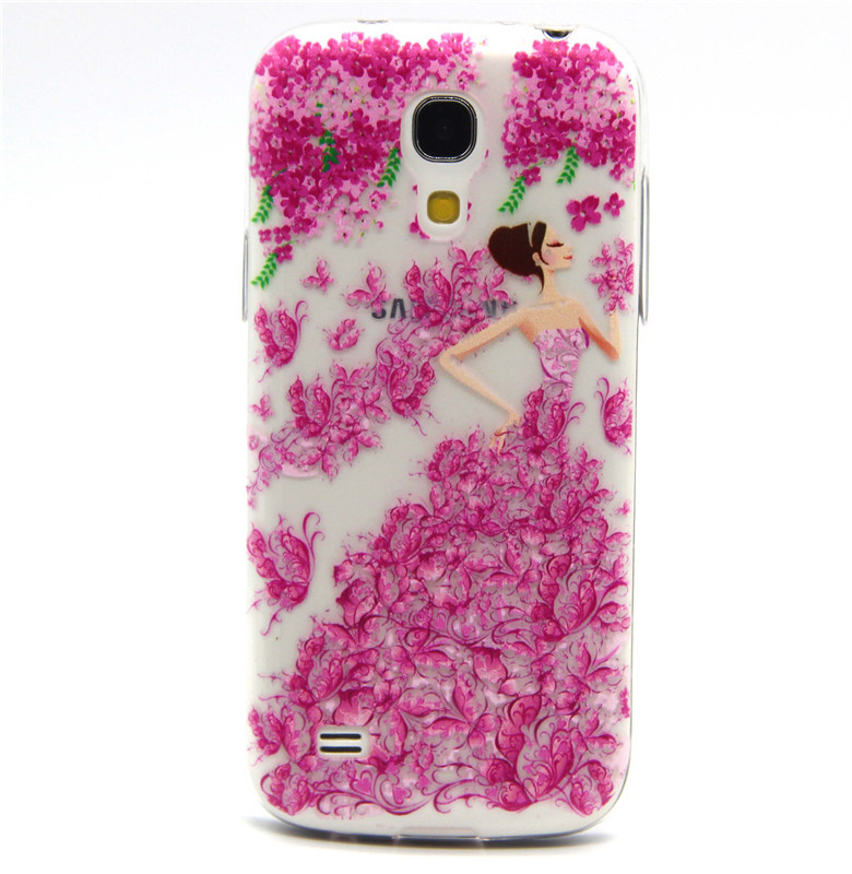 quality design f9ba7 49db2 US $4.99 |The new design red pretty girl pattern For Samsung Galaxy S4 Mini  i9190 case cover Ultra Slim Soft TPU mobile phone case on Aliexpress.com |  ...