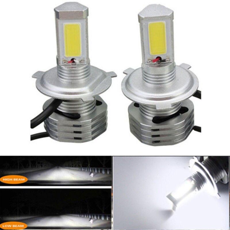 One Set 90W 9000LM Kit CAR LED Headlight H4 HB2 9003 High/Low Beam Bulbs 6000K