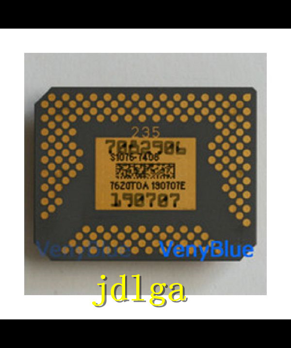 Projector chip S1076-7408 new DMD chip spotGenuine original 1076 6038b 1076 6039b 1076 601ab second hand projector dmd chip for ben q mx301 mp626 with 30 days warranty