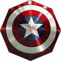 Captain America Personalizzata Bello Nuovo Miglior Design Portatile di Modo Alla Moda Utile Pieghevole Umbrella Buona Idea Regalo! Spedizione Gratuita