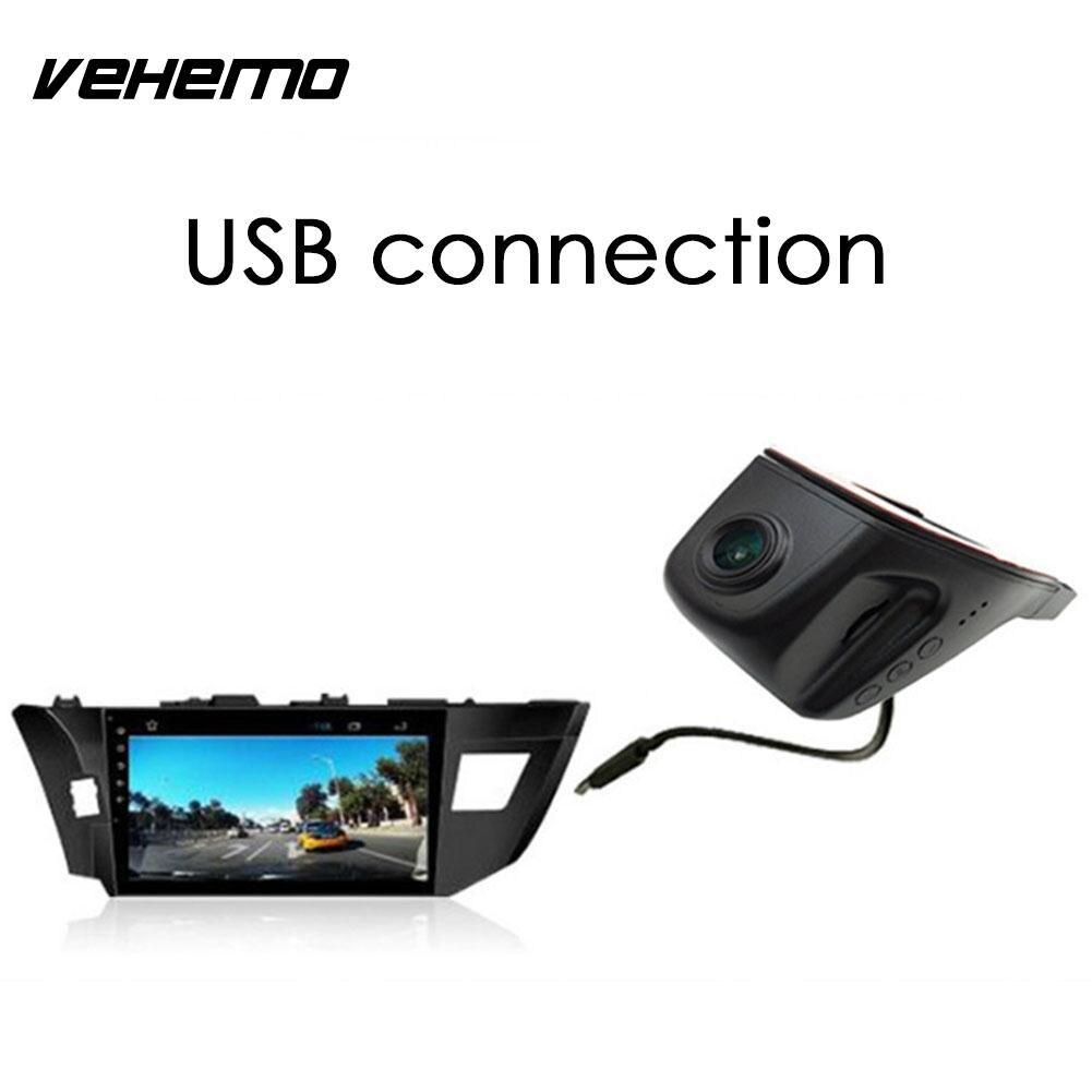 Vehemo 170 Degrees Car DVR Support TF Dash Cam Intelligent Parking Video Recorder G-Sensor Camcorder Premium Quality