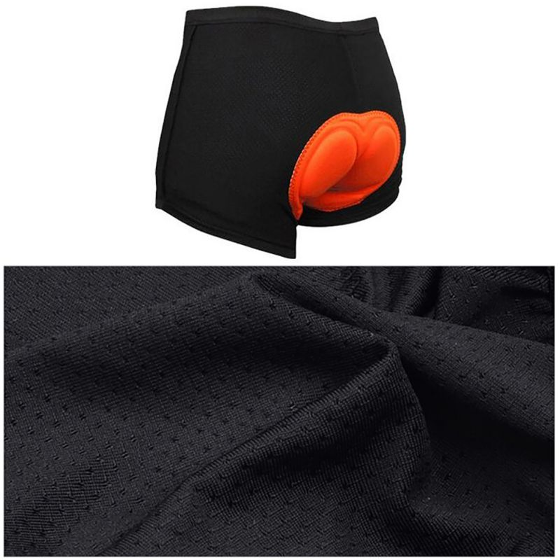 Bicycle Cycling Pants, Solid Comfortable Underwear Sponge Gel 3D Padded 15