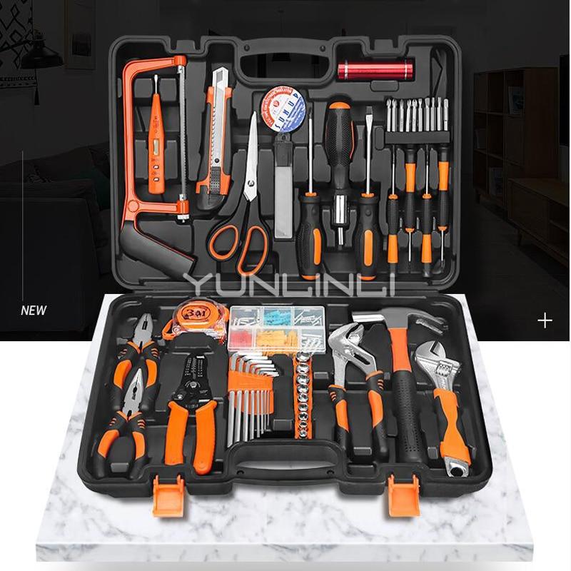 Livraison gratuite ensemble d'outils Kit de réparation Kit de bricolage maison multi fonction ménage boîte à outils matériel outil Jk1108 - 2