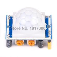 10PCS NEW PIR Sensor Human Body detecting module Pyroelectric HC-SR501 For Arduino MCU Freeshipping