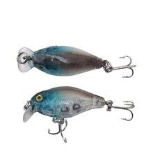 1Pcs Swim Fish Top water Wobbler Fishing Lure 4.5cm 4.5g Artificial Hard Crank Bait Japan Mini Fishing Crankbait lure WD-382