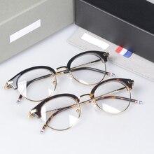 TB706 половина оправа для очков Oculos De Grau очки Нью-Йорк брендовые компьютерные очки TB706 oculos de grau с коробкой
