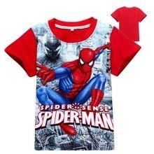 Summer Short Sleeve t shirt Print Superman Children Batman v Movies Boys Clothes T-Shirts For Boys Kids Baby Children's Clothing
