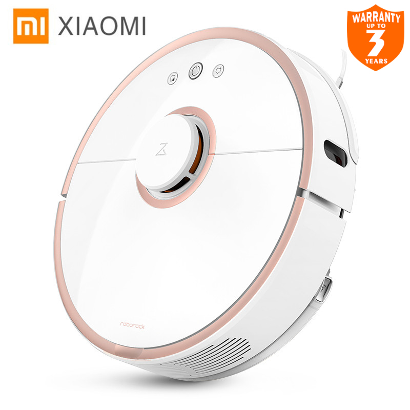 Xiaomi New Original Robot Vacuum Cleaner 2 Wet Drag Mop Smart Planned with Water Tank Automatic Sweeping Dust WIFI APP Control xiaomi robot vacuum cleaner mi roborock s50 robot 2nd generation wet drag mop smart planned with water tank free tax to israel