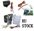 RU STOCK 1 KIT of JY-926+JY-15B+JY-26A multi coin acceptor with timer board coin operated time control device for cafe kiosk