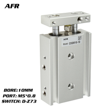 SMC Type Dual Rod Cylinder Basic TYPE double cylinder / shaft CXSM10-60 CXSM10-70 CXSM10-75 -Z73 -Y59A