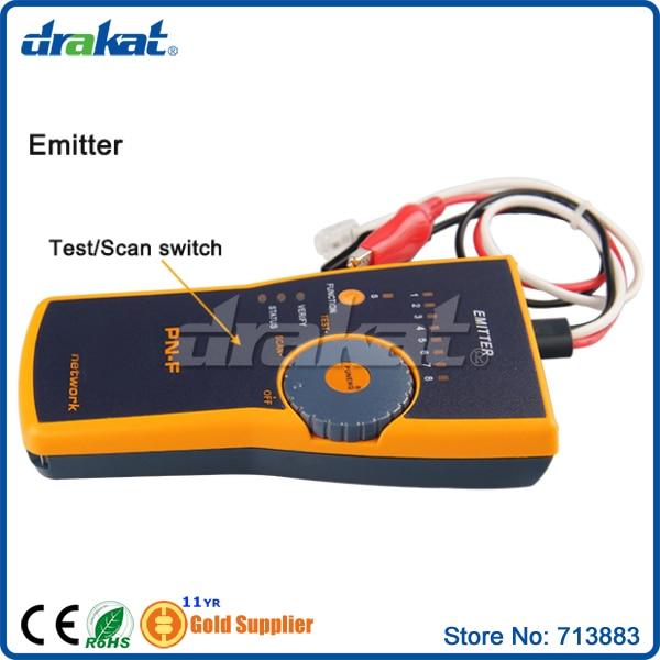 Traqueur de fil de testeur de câble réseau Lan - 4