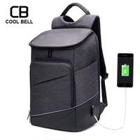 Men Casual Travel Bag External USB Charge Swiss 15 inches Computer Laptop Backpacks Men Sports Travel Anti Theft Women Backpack