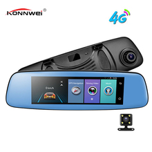 E06 4G Car DVR 7.84″ Touch ADAS Remote Monitor Rear view mirror with DVR and camera Android Dual lens 1080P WIFI dashcam
