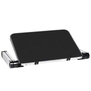 Image 4 - Aluminum Alloy Laptop Portable Foldable Adjustable Laptop Desk Computer Table Stand Tray Notebook Lap PC Folding Desk Table