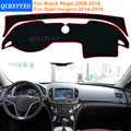 2016 Estilo Do Carro Dashboard Mat Sombra Almofada Photophobism Pad Tapete Interior Para Buick Regal 2009-2016 Opel Insignia 2014-2016