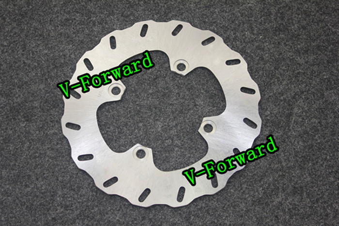 Motorcycle Rear Brake Disc Rotors For ZZR600  93-04 Universel motorcycle rear brake disc rotors for gtr 1000 86 93 universel