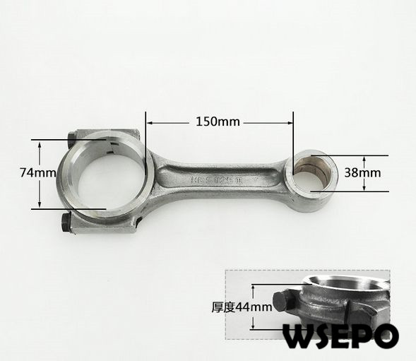 OEM Quality! Connecting Rod Assy for CT1125 4 Stroke Single Cylinder Small Water Cooled Diesel Engine